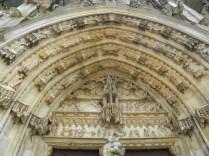 L'EPINE: portal główny fasady zachodniej / main portal of the west facade