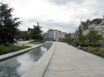 Jeden z kanałów w centrum miasta