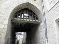 Jeden zaułków w Auxerre