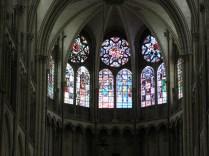 Witraże prezbiterium