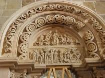 VEZELAY: PORTAL PRAWY PRZEDSIONKA / RIGHT PORTAL OF THE NARTHEX