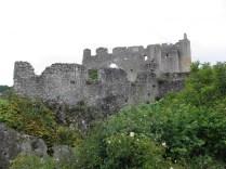 ANGLES-SUR-ANGLIN: ruiny zamku
