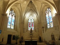 AMBOISE: wnętrze kościoła Saint-Florentin / in Saint-FLorentin church