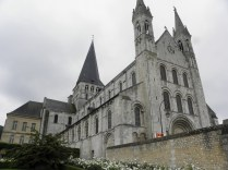 BOSCHERVILLE: KOŚCIÓŁ OD PN. ZACH. / CHURCH SEEN FROM THE NORTH-WEST