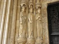 Figury portalu południowego