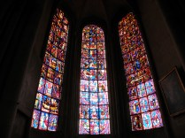 Zabytkowe witraże w katedrze