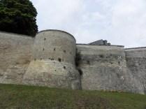 Fragment dawnych murów Chateaudun