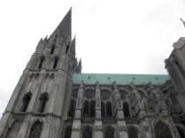 CHARTRES: Południowo-zachodnia wieża katedry / South-west tower of the cathedral