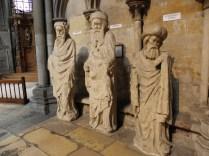 ROUEN: FIGURY - ŚW. JAKUB MNIEJSZY, PROROCY / ST. JAMES THE LESS AND PROPHETS
