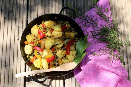 Kartoffel-Gemüsepfanne1
