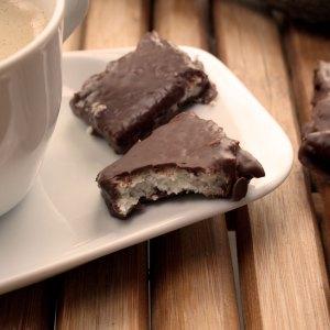Kokos-Schokoladen Pralinen (Bounty-Style)