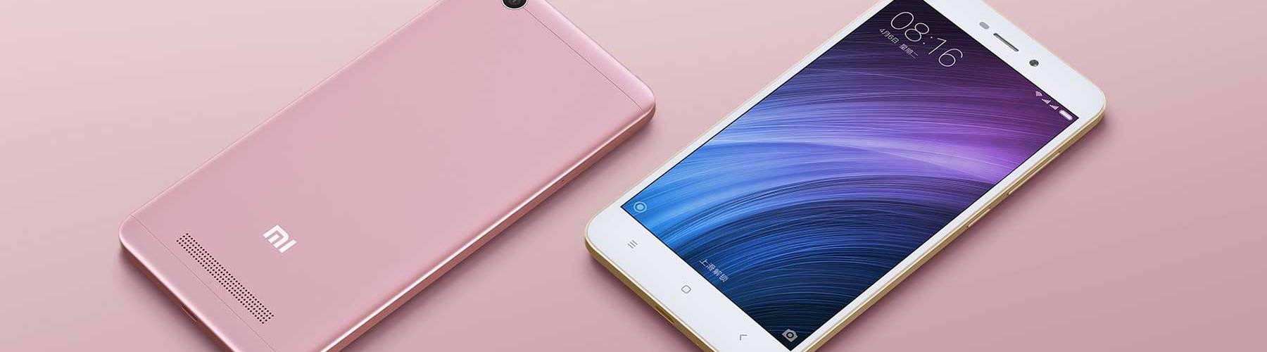 Xiaomi Redmi 4A - Beleza Rosa