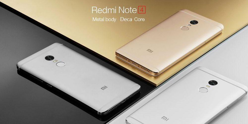 Xiaomi Redmi Note 4 - Metal Body Deca Core
