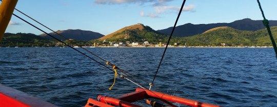 Coron Town vanaf het water - Palawan, Filipijnen