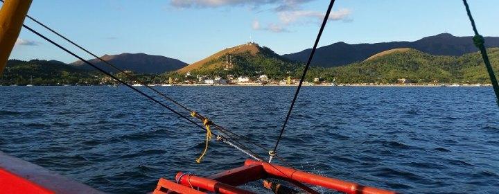 Coron Town vanaf het water
