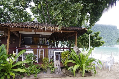 Ontbijt Cafe Hotel B01 El Nido