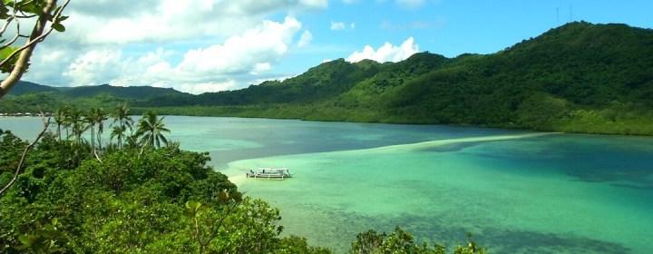 Snake Island in de Bacuit Bay