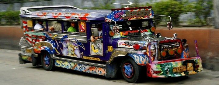 Jeepney in Manilla (Manila)