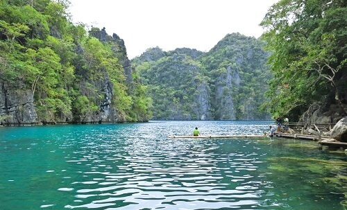Kayangan Lake - Coron Island, Palawan, Filipijnen
