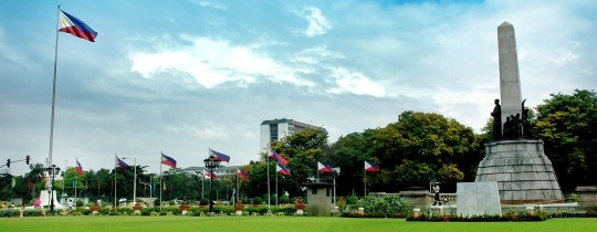 Rizal (Luneta) Park, Rizal Monument - Manilla, Luzon, Filipijnen