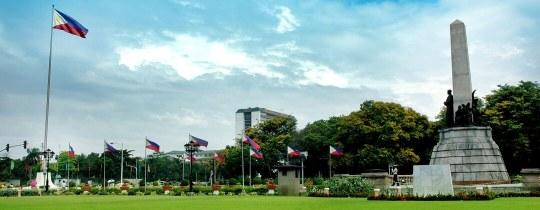 Rizal (Luneta) Park, Rizal Monument - Manilla, Luzon, Filipijnen