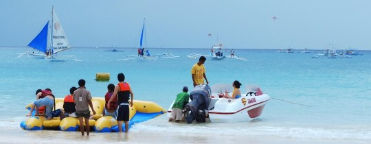 Activiteiten Boracay - Western Visayas, Filipijnen