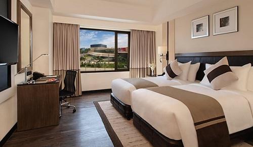 Deluxe Twin Room Hotel L01 - Davao, Mindanao, Filipijnen