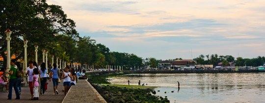 Dumaguete Boulevard - Negros Oriental, Central Visayas, Filipijnen