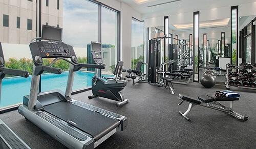 Fitnessruimte Hotel L01 - Davao, Mindanao, Filipijnen