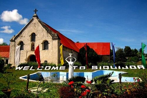 St. Francis of Assisi Church - Siquijor, Central Visayas, Filipijnen
