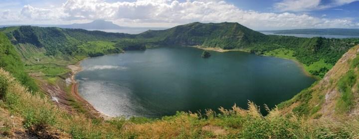 Kratermeer Taal Vulkaan
