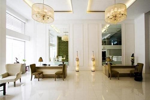 Lobby Hotel L01 - Legazpi, Albay, Luzon, Filipijnen