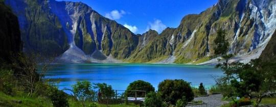 Mount Pinatubo Kratermeer - Zambales, Luzon, Filipijnen
