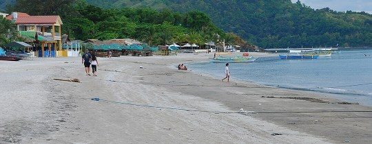 Strand - Subic Bay, Luzon, Filipijnen