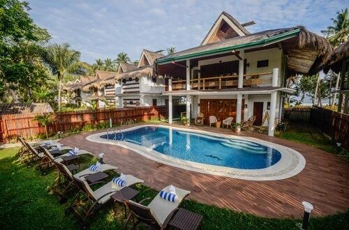 Privé zwembad Resort's Suite, Resort L11 Underground River Omgeving - Puerto Princesa, Palawan, Filipijnen