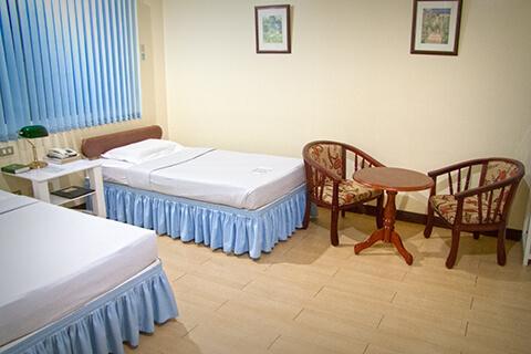 Twin Deluxe Room Hotel B01 - Dumaguete, Central Visayas, Filipijnen