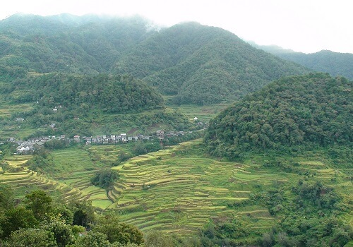Uitzicht Hotel B01 Banaue - Ifugao, Luzon, Filipijnen