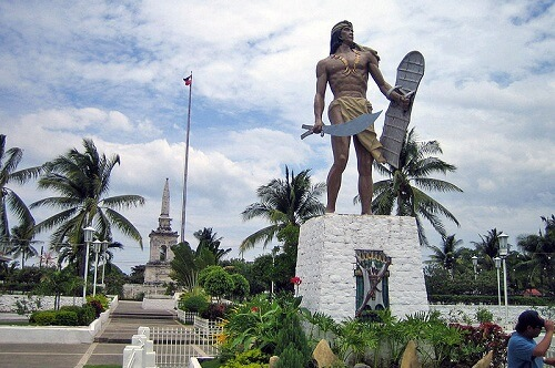 Lapu Lapu Monument - Mactan Island, Cebu, Central Visayas, Filipijnen