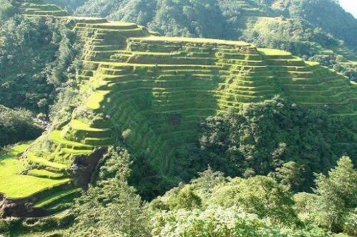 Uitzichtpunt Rijstterrassen - Banaue, provincie Ifugao, Luzon, Filipijnen