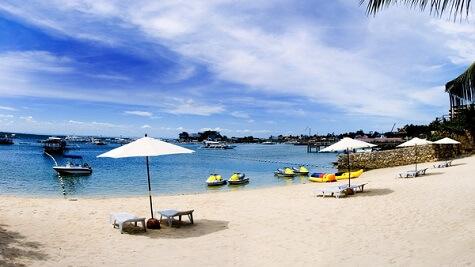 Strand - Resort M11 - Mactan Island, Cebu, Filipijnen