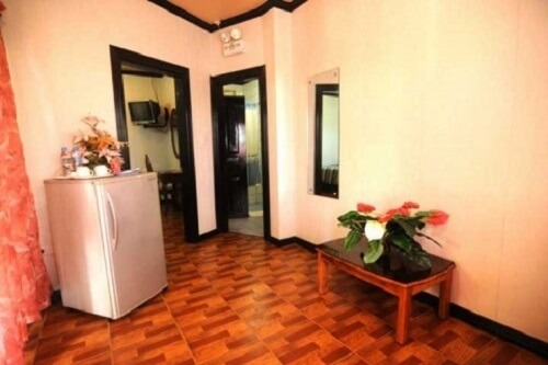 Woonkamer Beachfront Suite Resort B01 - Bohol, Central Visayas, Filipijnen