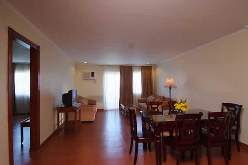 Woonkamer Presidential Suite Resort M02 - Bohol, Central Visayas, Filipijnen