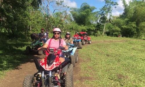 Quad rijden Bohol Filipijnen