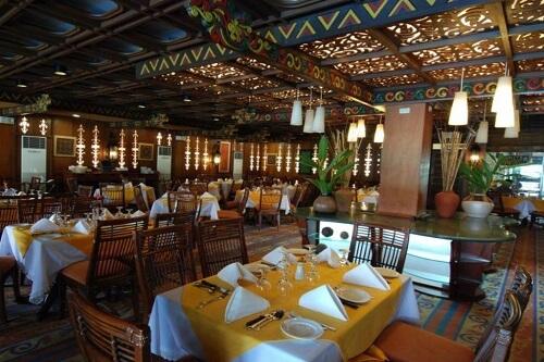 Restaurant hotel M01 - Angeles City, Luzon, Filipijnen