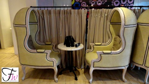 The Fabulous Couches of Larcys Cupcakery Cafe