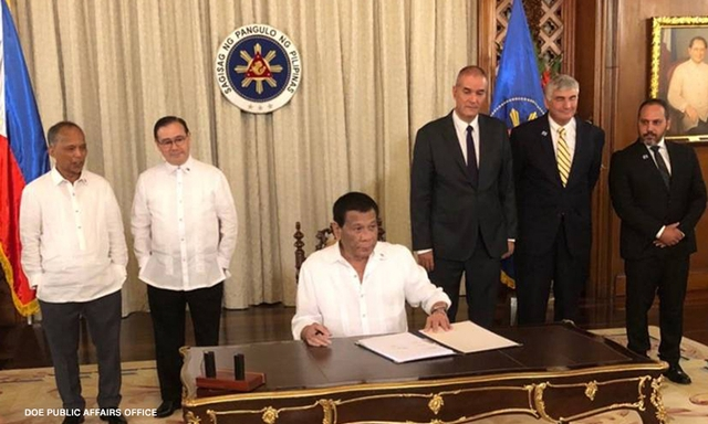 Pres Duterte sign Palawan oil exploration deal with Israel to boost PH energy resources dev't1