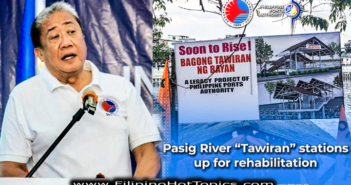 "DOTr to finish Pasig River ""Tawiran"" stations rehab by 2020"
