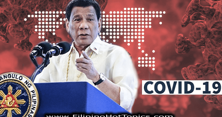 President Duterte declares state of public health emergency due to Covid-19