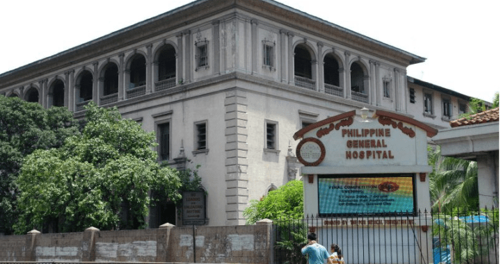 Philippine General Hospital (PGH) starts accepting Covid-19 patients