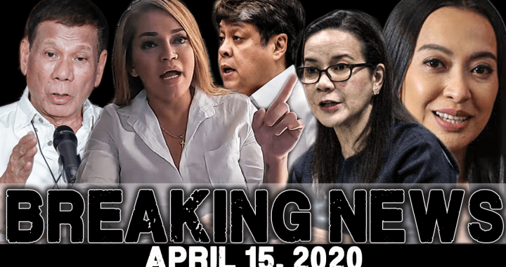 BREAKING NEWS APRIL 15 2020: ETHEL BOOBA l PRES DUTERTE l KIKO PANGILINAN l GRACE POE l MOCHA USON